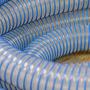 51mm Superflex PU-R Ducting Blue Helix