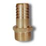 1/8 BSPT Brass Hex M Hose Tail