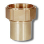 3/4 BSP Fm Brass Smooth Tail Insert