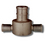 2 1/2 Inch Female X 2 Inch Aluminium Instantaneous Hose Coupling