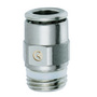 S6510 Camozzi 6mm M5 Straight Male Stud