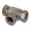 1/4 BSP Female Hydraulic Tee Adaptor
