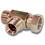 1 1/2 BSP Male Female Male Hydraulic Tee Adaptor