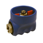 1/2 BSP St/St Rubber Coated Ball Valve Blue