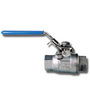 941 St/St 2 Piece Ball Valve Full Bore 1 BSP