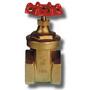 A931 Brass Gate Valve BS51540 1/2