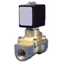 1/2 Brass Servo-assisted N.Closed Solenoid Valve