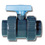 Imperial Plain PVC Economy D Union Ball Valve