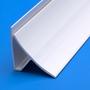 8ft PVC Internal Corner Cladding Profile