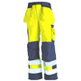 1533 Blaklader Eurosafe Trousers Y/Navy W34-L33
