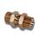 1/4 BSP Male Male Bulkhead C/W Lock Nut