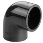 3/8 Plain PVC 90deg Elbow