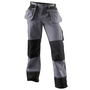 1503 Blaklader Trousers Grey/Blk W33-L32