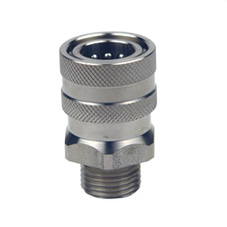 ST200 St/St Quick Release Coupling 3/8 BSP Male