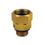 3/4 - 1/2 M/F Brass Ball Bearing Swivel - 9