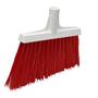 Vikan Broom Angle Cut Red