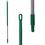 Vikan Ergonomic Aluminium Handle 1500mm Green