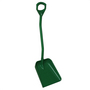 Vikan Shovel Short Handle Large Blade Green