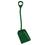 Vikan Shovel Short Handle Large Blade Green