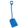 Vikan Shovel Short Handle Large Blade Blue