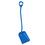 Vikan Shovel Long Handle Large Blade Blue