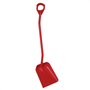 Vikan Shovel Long Handle Large Blade Red