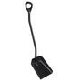 Vikan Shovel Long Handle Large Blade Black