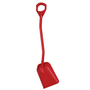 Vikan Shovel Short Handle Small Blade Red