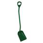 Vikan Shovel Long Handle Small Blade Green