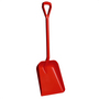 Vikan Shovel D Grip Short Handle Large Deep Blade Red