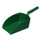 Vikan Large Hand Scoop Green
