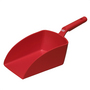 Vikan Large Hand Scoop Red