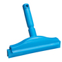 Vikan 2C Double Blade Hand Squeegee Fixed Blue