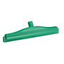 Vikan 400mm 2C Double Blade Squeegee Fixed Green