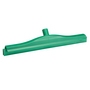 Vikan 500mm 2C Double Blade Squeegee Fixed Green