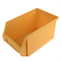 90mm x 105mm x 52mm Yellow Storage Bin