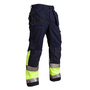 1529 Blaklader Eurosafe Trousers Cotton Navy / Y W33-L33