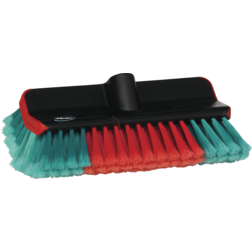 Hi-lo Vehicle Wash Brush withWater Channel