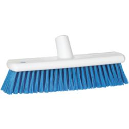 Vikan Soft Resin Floor Broom 290mm Blue