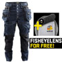 1999 Blaklader Craftsman Trousers Stretch Navy