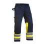 1478 Blaklader Multinorm Trouser Navy/Yellow W51-L32