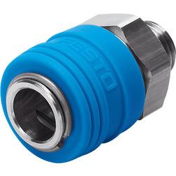 KD4-1/4-A-R Festo Quick coupling socket