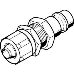 KS4-CK-9-S Festo Quick coupling plug