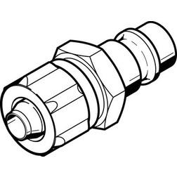 KS4-CK-6 Festo Quick coupling plug