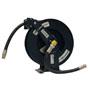 "Kiowa Blue P/Coated S/Rewind Hose Reel, 10-12m x 3/4"" hose suitable for Adblue"