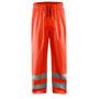 1384 Blaklader Rain Trousers High Vis Level 1 Red L