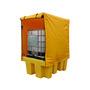 Fosse Spill Kill IBC Single Pallet Frame & Cover 176 x 135 x 241cm